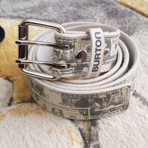 Burton rocker belt.